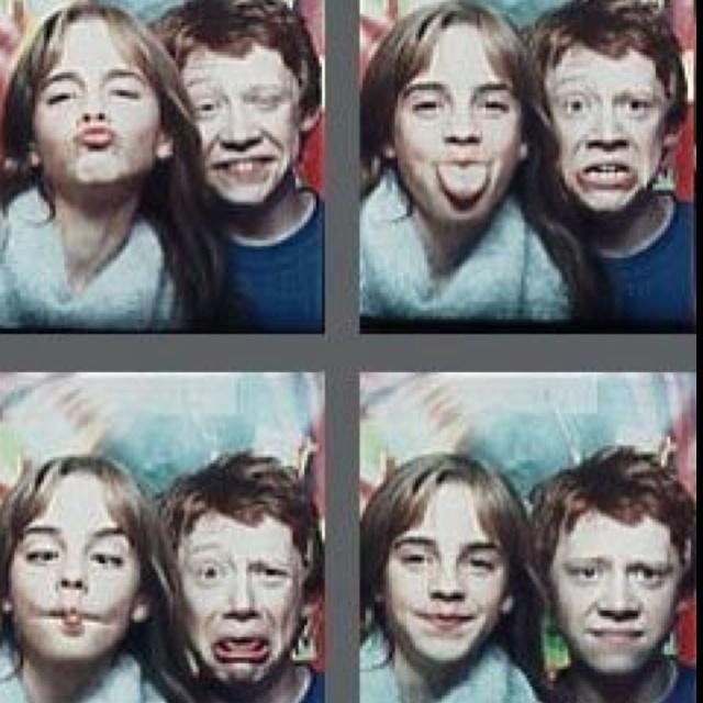 Emma Watson and Rupert Grint - too much