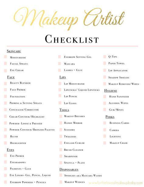 Pics Of Bridal Makeup Name List