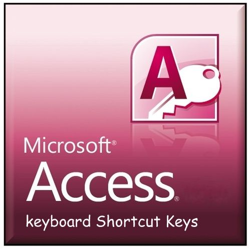 microsoft access keyboard shortcuts