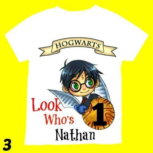 Harry Potter Birthday Shirt