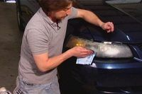 How to Clean Your Car's Headlight Covers (3 Steps)   eHow