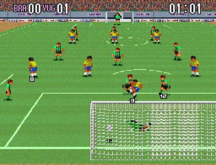 Super Soccer SNES Online Vulgar Knight Soccer, Footy