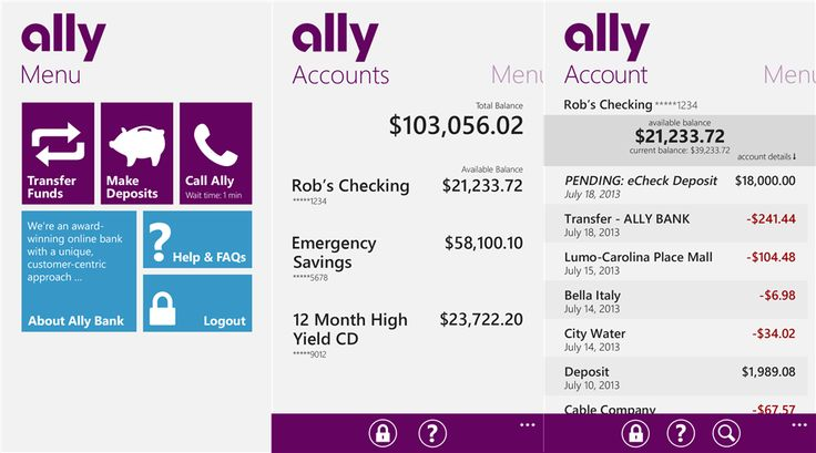 Ally Bank has launched Mobile Banking application for Windows Phone 8 devices   Ally Bank Ally Financial Inc direct banking subsidiary relea...
