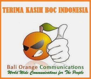 TERIMA KASIH BALI ORANGE COMMUNICATIONS