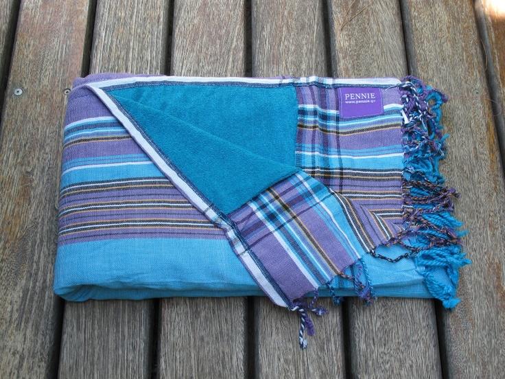 Kikoy Towel Turquoise - pennie.gr