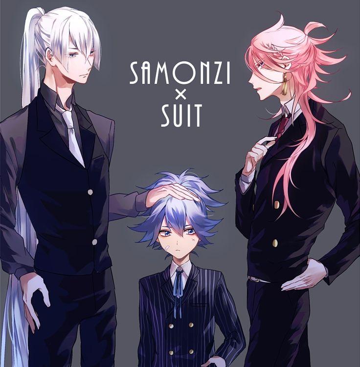 AiLM320, Touken Ranbu, Kousetsu Samonji, Sayo Samonji, Souza Samonji, Short Ponytail