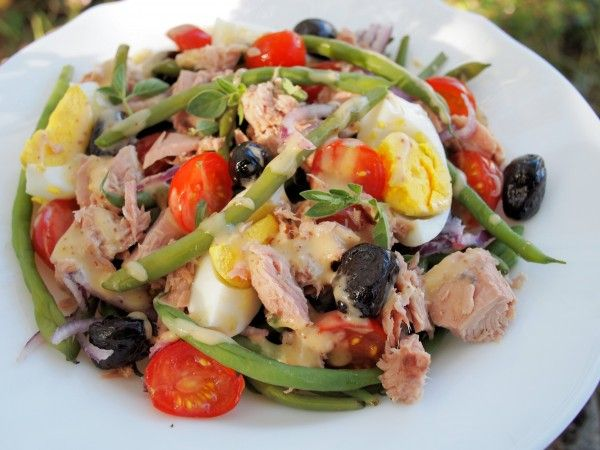 5:2 Diet – Fast Days & Feast Days, Monday Meal Plan and a LOW CALORIE Salad Niçoise Recipe