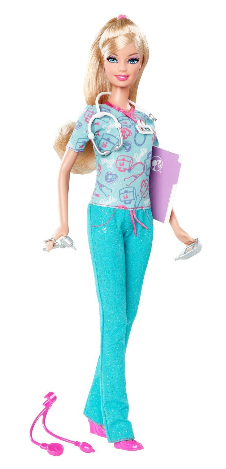 Barbie deluxe furniture stovetop to tabletop kitchen doll target - Barbie I Can Be Nurse Doll New 2012 Version I Want One With Dark Hair Lol