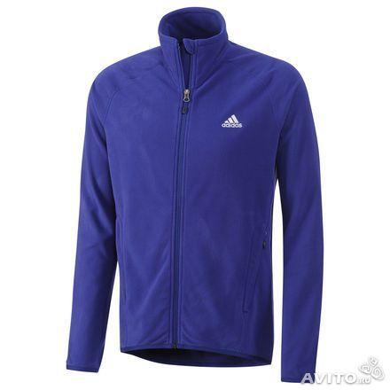 Мужские зимние флисовые куртки Adidas 2014-2015