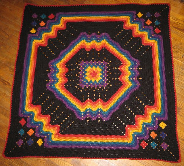 Bernat Blanket Yarn Patterns Crochet Rug
