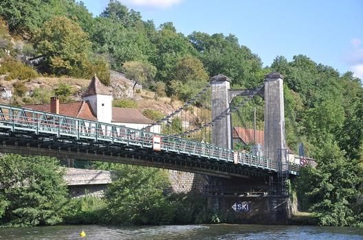 Cajarc Suspension bridge