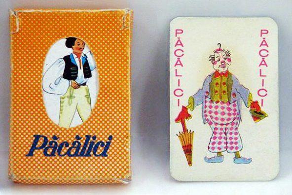 Cartile de joc Pacalici