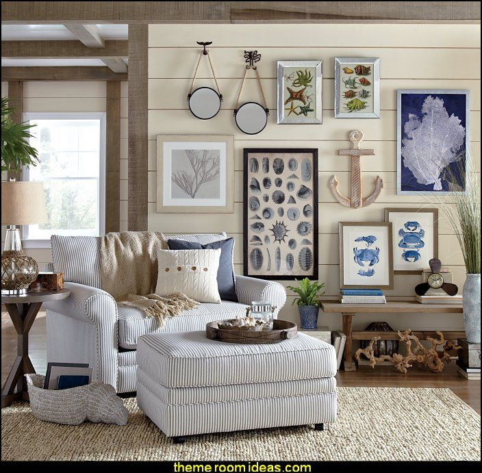 Beach Style Living Room Chairs: Best 25+ Seaside Cottage Decor Ideas On Pinterest