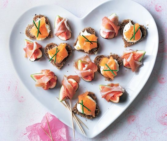 Smoked Salmon Canapés | ASDA Recipes