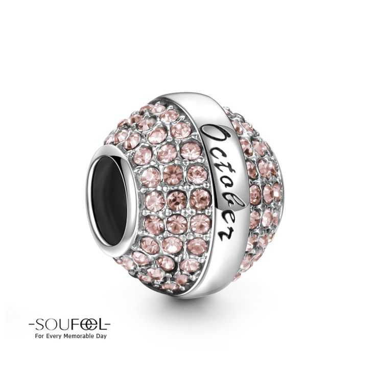 SOUFEEL Blue Mermaid Charm 925 Sterling Silver Charms European Bracelets Compatible Women Gift Um1o5IEm