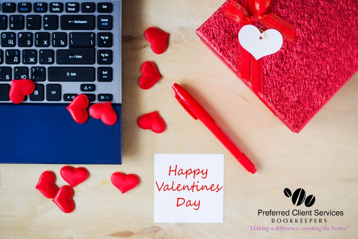 Happy Valentines Day from Everyone at Preferred Client Services Group Ltd