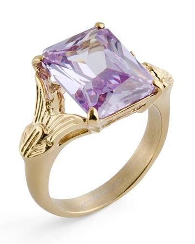Purple Stone Ring.