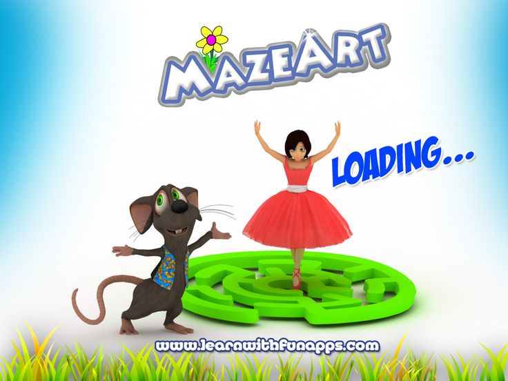 MazeArt Splash Screen  Rendered using 3d Studio Max and Vray.