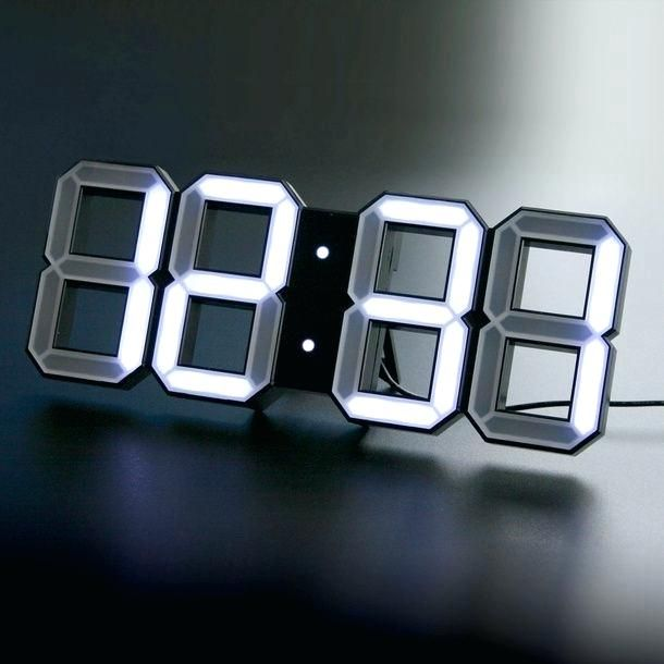 cool led clocks a futuristic clock what ajanta led wall clocks online