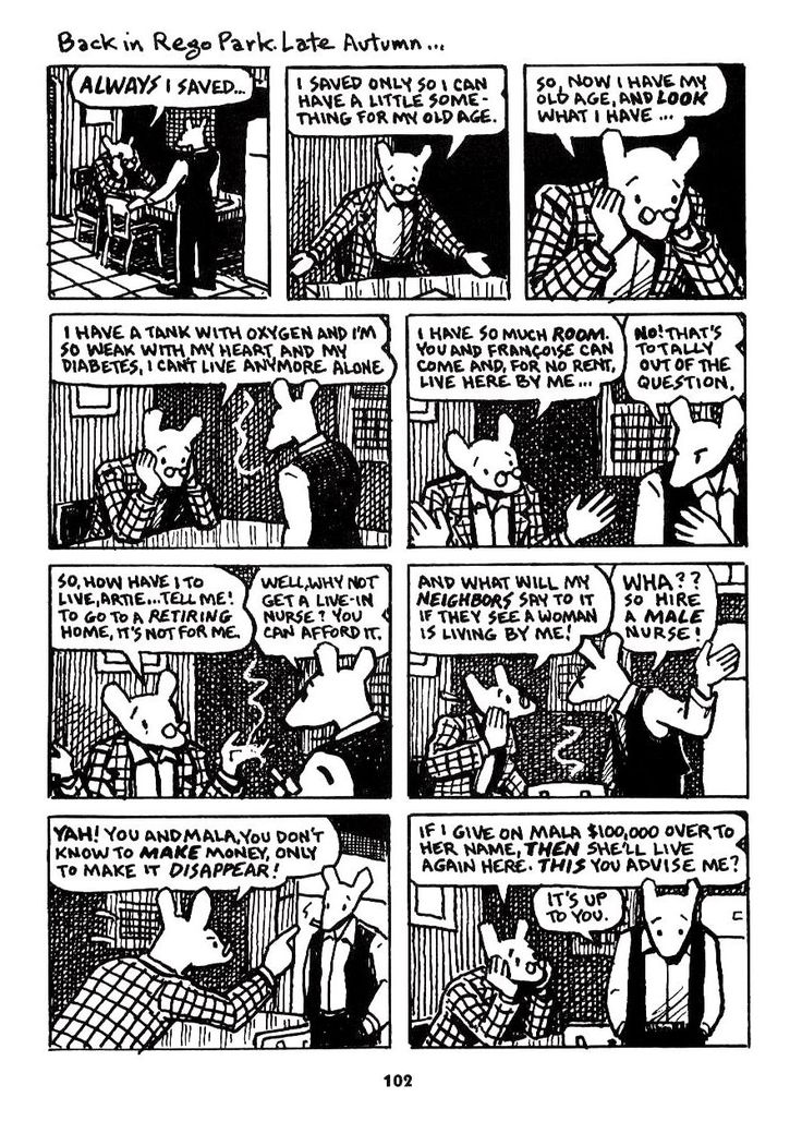 """a review of maus a graphic novel by art spiegelman Review of art spiegelman's the complete maus in his 2001 review of maus, steven wu calls art spiegelman's graphic novel """"a mere re-presentation of what happened"""", and explains that, although."""