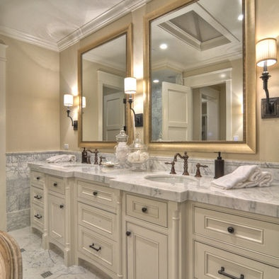 Best New Vintage Master Bathroom Images On Pinterest Master - Antique bronze bathroom mirrors for bathroom decor ideas
