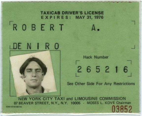 While preparing for his role in Taxi Driver, Robert De Niro actually drove around NYC picking up customers. Must have been an interesting ride!