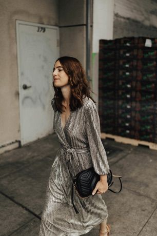 Fall trend to try: metallics