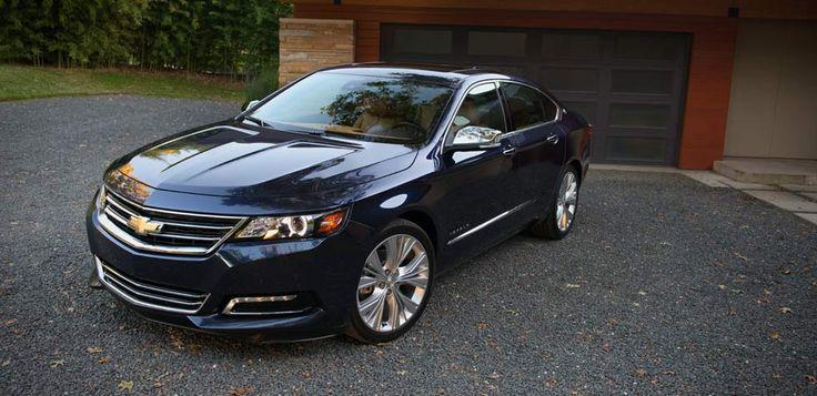 Sports sedan 2014 Impala LTZ in Blue Ray Metallic with available 20-inch aluminum wheels.  http://www.santafechevroletcadillac.com