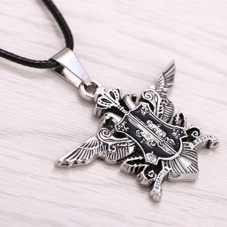 Black Butler Phantomhive Crest Necklace