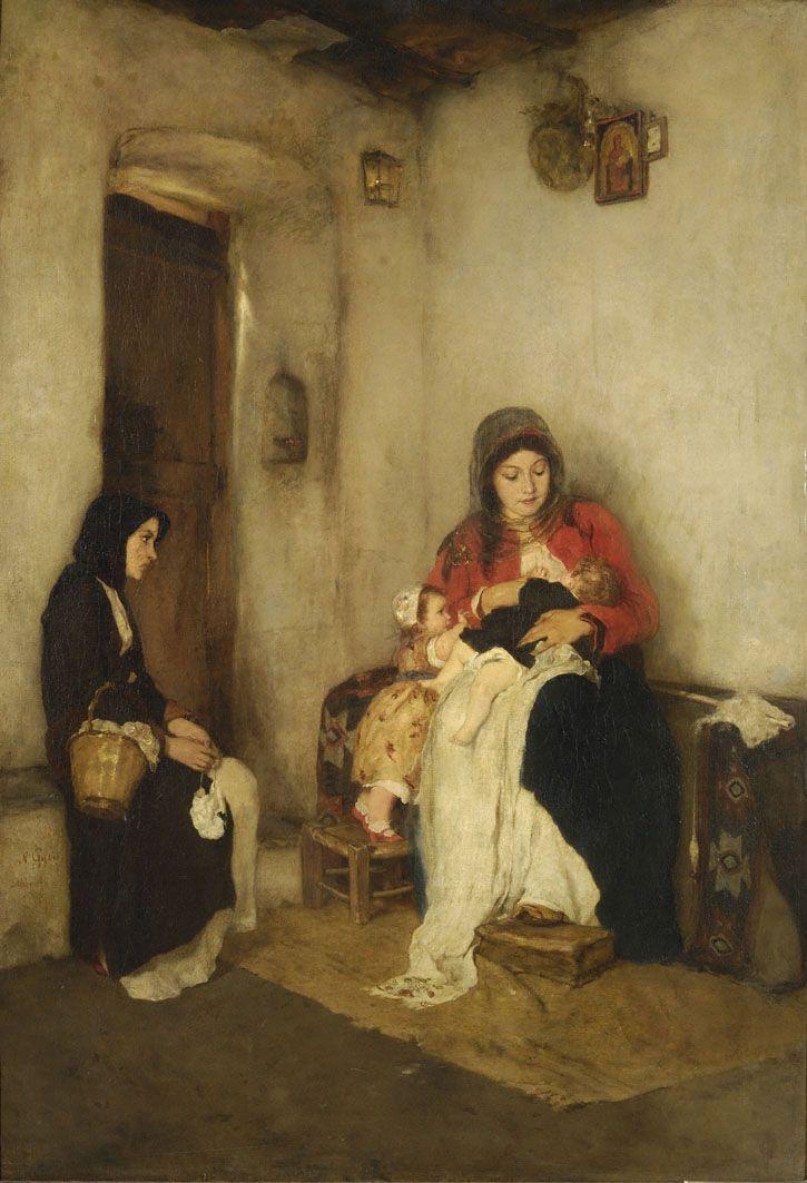 The Stepmother by Nikolaos Gyzis