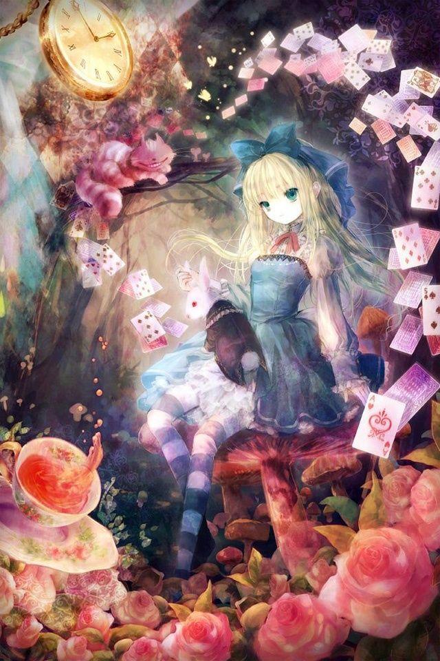 алиса в стране чудес мультфильм аниме: 16 тыс изображений найдено в…