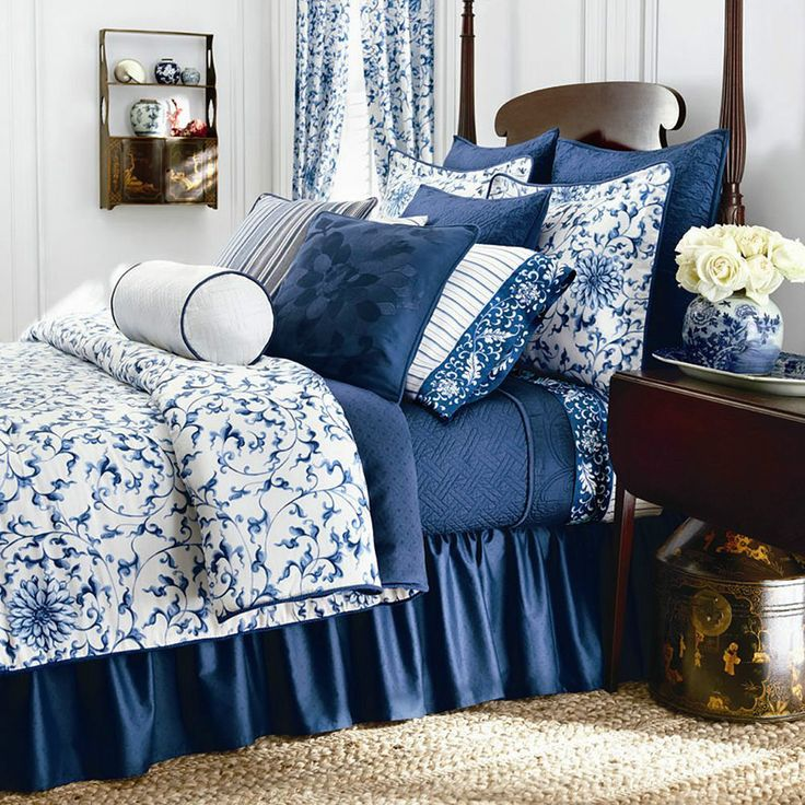 New Ralph Lauren Chaps Home Camellia Queen 4pc Comforter