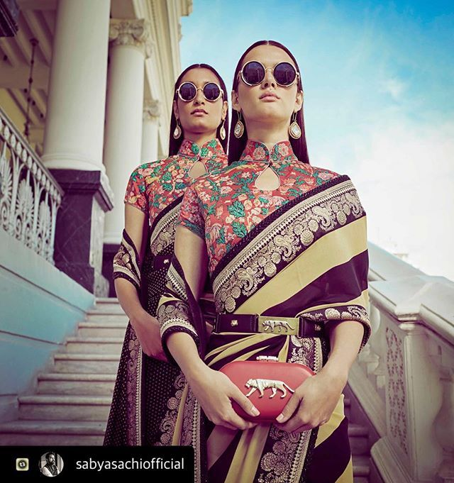 Toabh Artist @marianna_mukuchyan does Hair & Makeup for @sabyasachiofficial campaign  Photographed by #TarunVishwa  #teamtoabh #toabh #toabhtalent #toabhartist #hair #makeup #shoot #sabyasachi #campaign #mariannamukuchyan  #Repost with @sabyasachiofficial I have always been inspired by the mysterious orient. A visit to The China Club in Hong Kong while on the Christian Louboutin Global Tour rekindled an old love-affair. I started researching on Chinese calendar art cheongsams wallpapers…