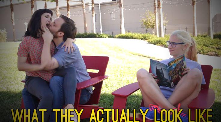 Hát igen, szerelmesnek lenni őrült egy dolog! Valahogy így nézhettek ki a szerelemeddel egy külső megfigyelő szemével! :D Biztos a nevetés!