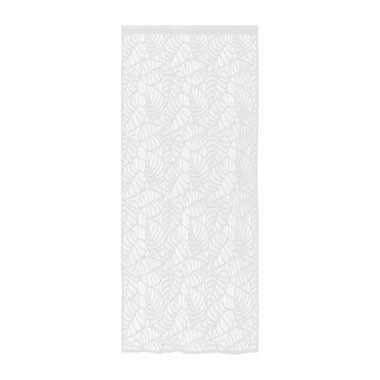 Deurgordijn open doek - blad motief - 90x220 cm