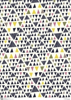 wrapping paper, design Leah Duncan