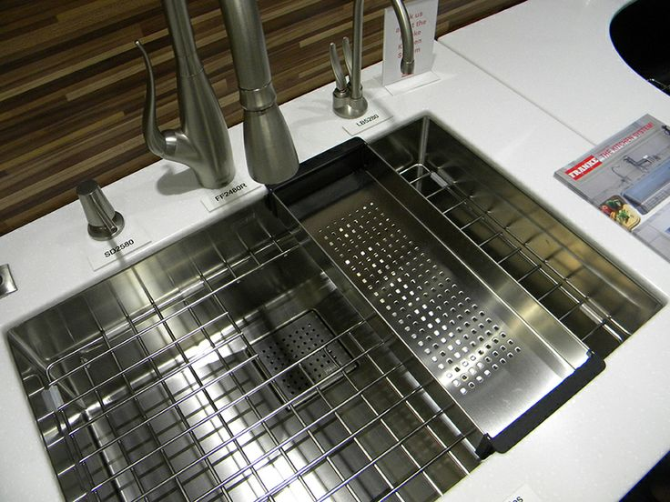 Franke S Beloved Peak Sink With Custom Accessories What S Not To Love About This Sink