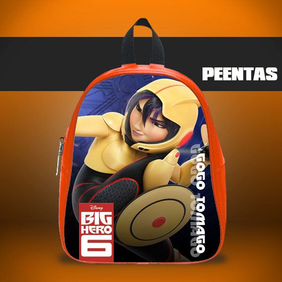 Gogo Tomago Big Hero 6 -  Design variations School Bag
