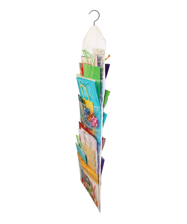 Look at this Gift Bag Organizer on #zulily today!