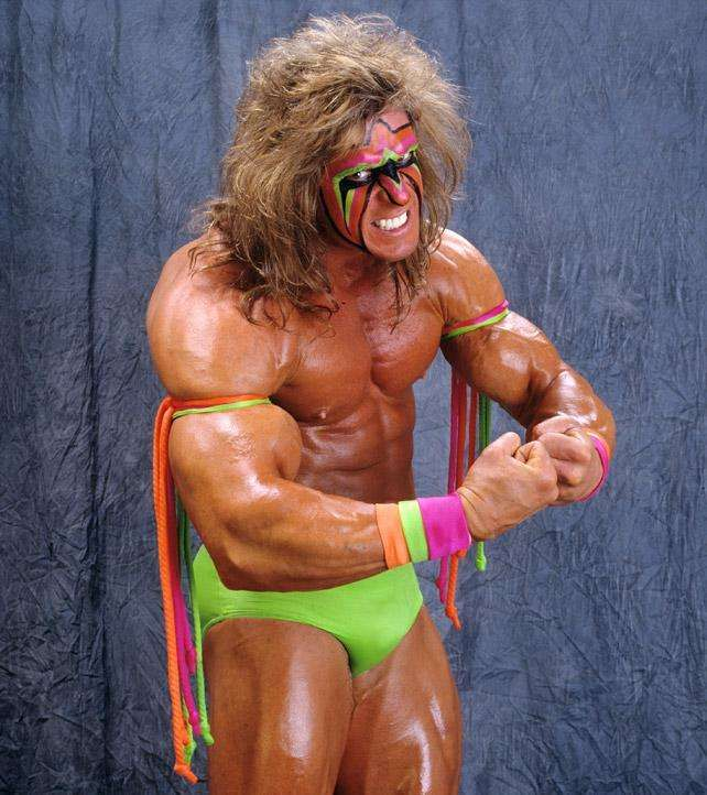 Wwe Face Paint Wrestlers Black Hair Tribal