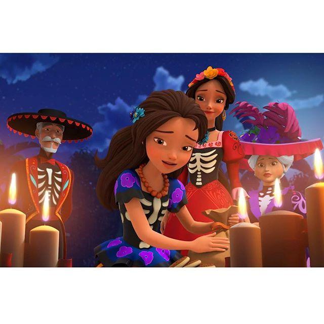 "This episode is going to make us cry! ""Dia de Los Muertos"" It's going to be so great!!!! 🌺💀🌼#diadelosmuertos #ElenaOfAvalor #Princesselena #Disneychannel #Disneyjunior #edit #editoftheday #Latinaprincess #disneyworld #disneyedit #beautiful #disneydolls #Disney #Disneystore #Disneygram #Disneyside #Disneymagic #princess #Instadisney #Disneyparks #Disneysea #Disneyprincess #Disneyprincess #Disneylatino #Latinos #Aimeecarrero #disneymagic #disneylife #fridayelenaday #disneyland"