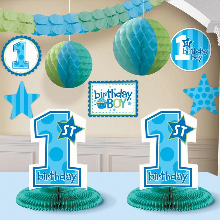Decor For A Boys First Birthday
