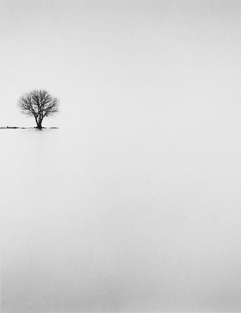 Great minimal Black and White photography by Michael Kenna