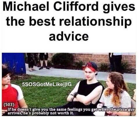 Michael Clifford speaks the truth