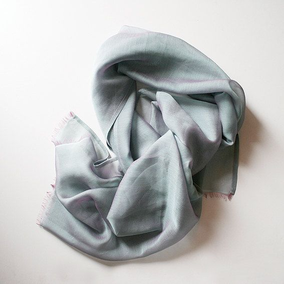 Classic and cute satin silk scarf. by MisBaratijas on Etsy