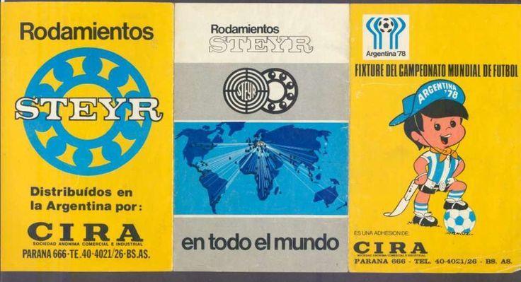 Brochure Argentina Soccer World Cup 1978 Official Fixture w Logo  | eBay