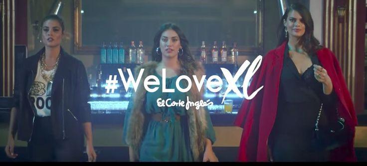 #WeLoveXL, nueva colección de El Corte Inglés para mujeres Curvies otoño invierno 2017