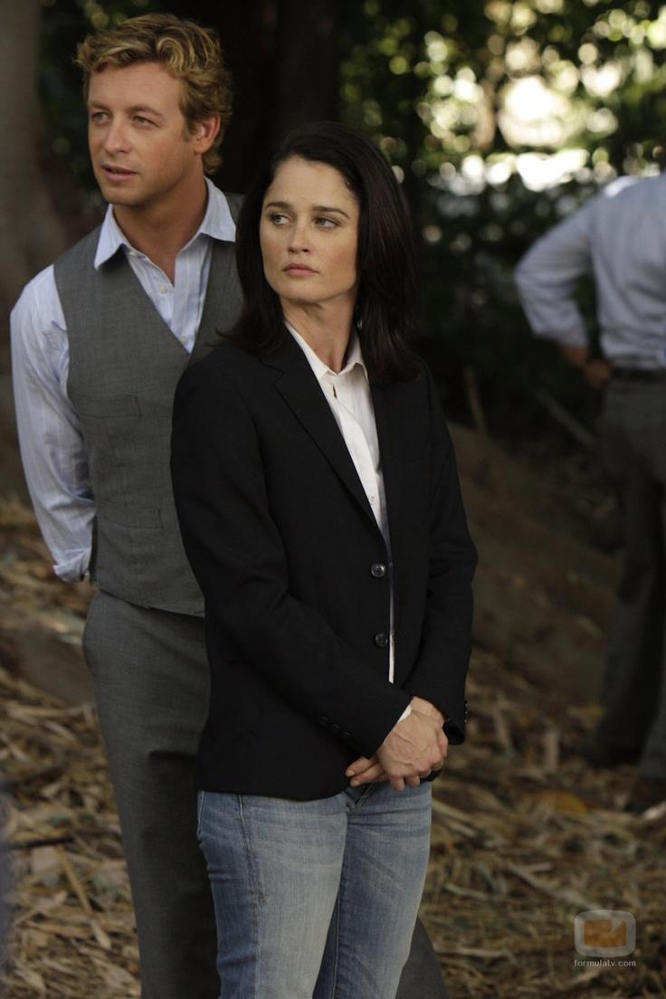 Patrick Jane y Teresa Lisbon