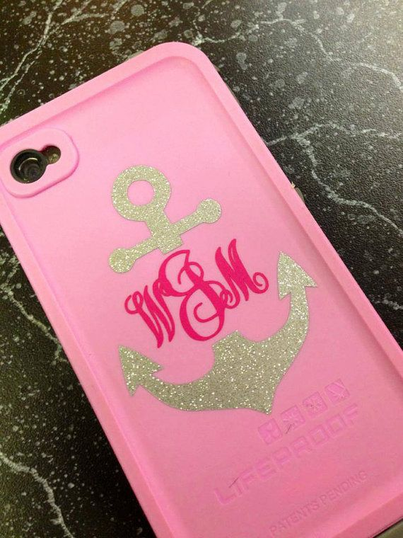 Personalized phone monograms by KraftyKaboodles on Etsy, $5.00