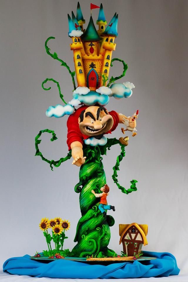 Jack And The Beanstalk Novelty Cakes